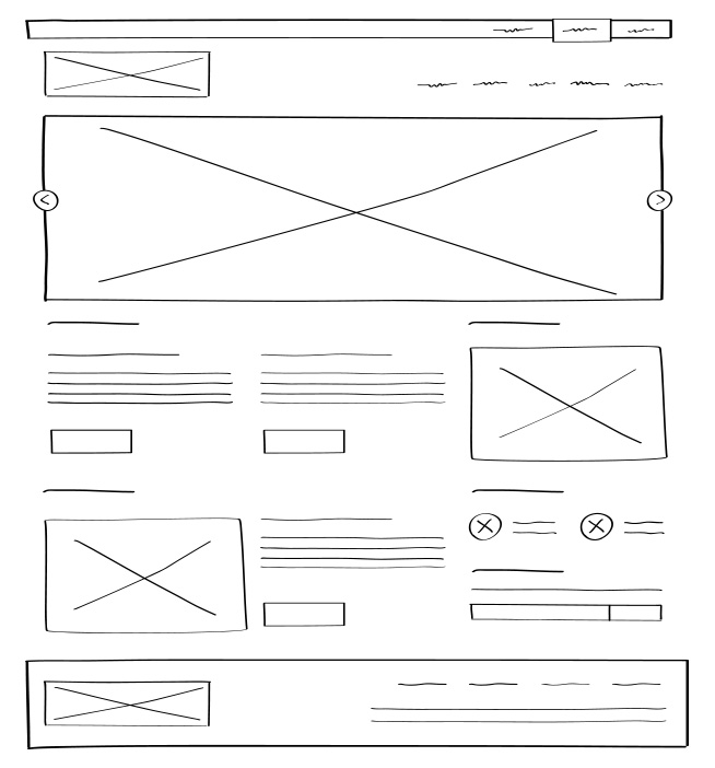 wireframe: UX Design